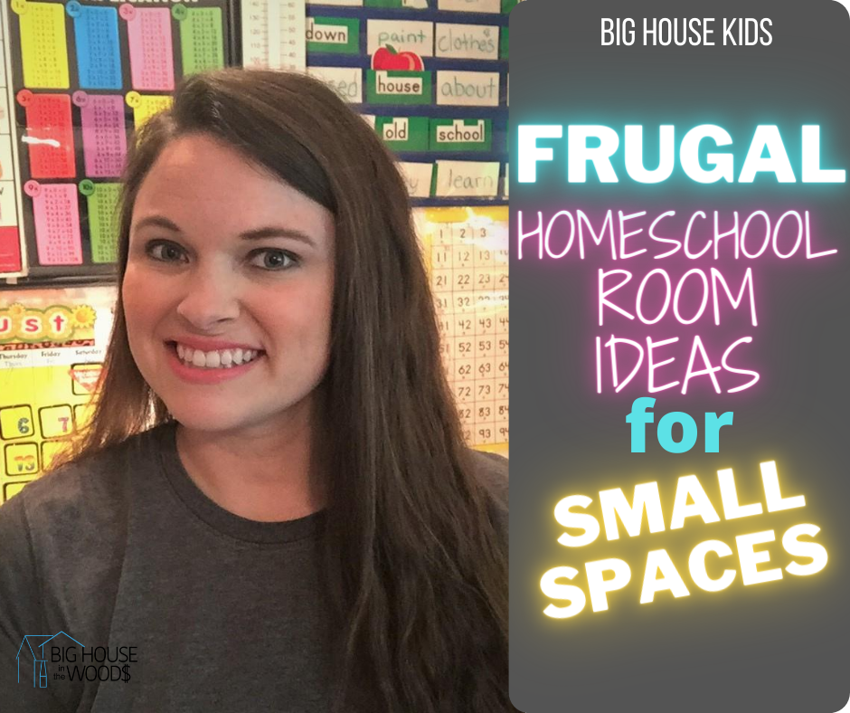 Frugal Homeschool Room Ideas for Small Spaces