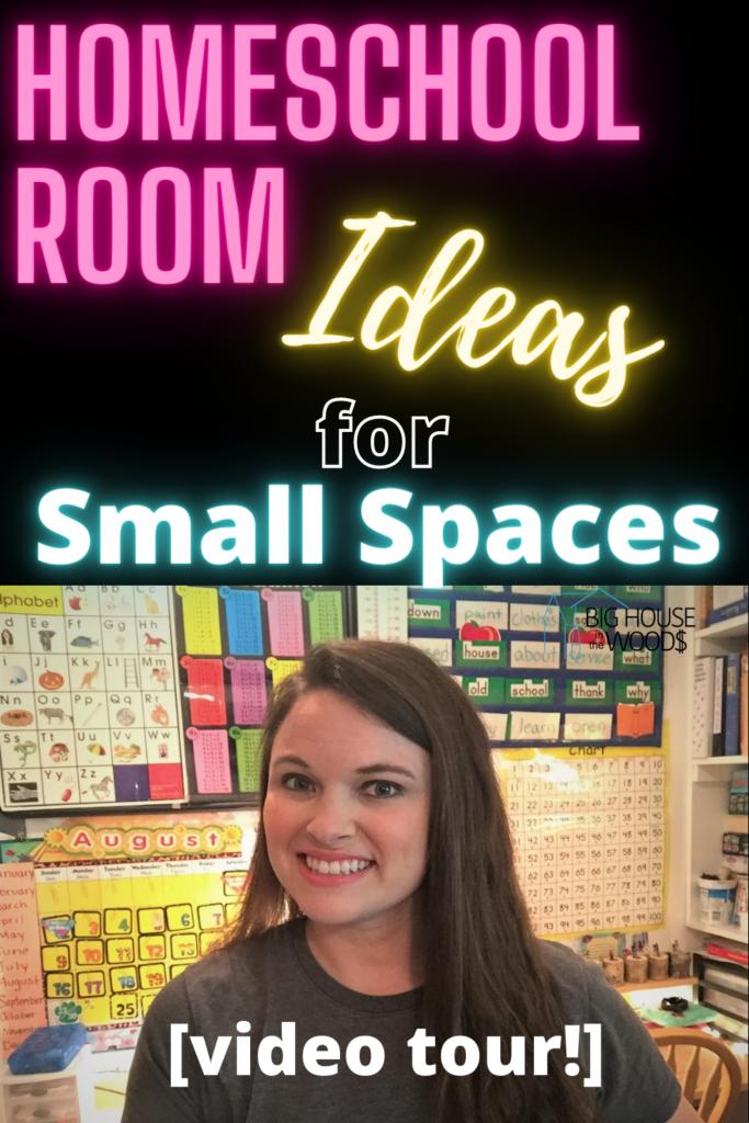 Homeschool room ideas for small spaces - homeschool room setup ideas