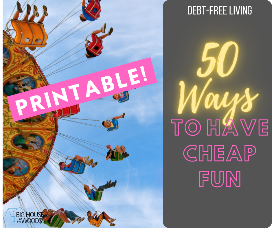 50 Ways to Have Cheap Fun
