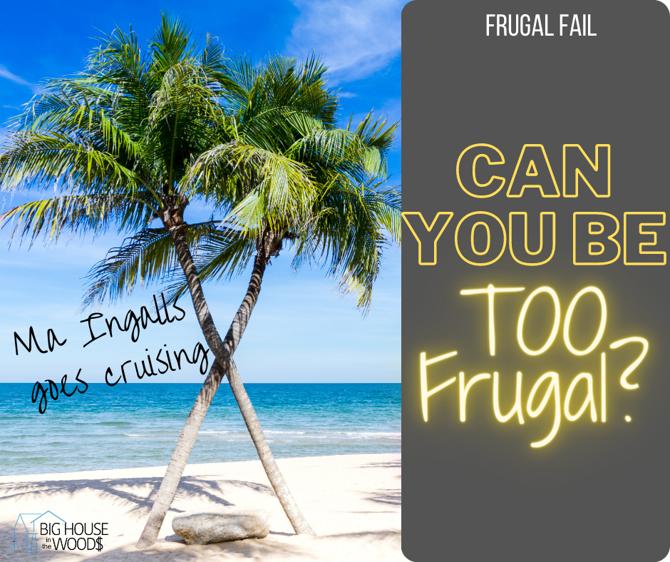Can You Be Too Frugal?