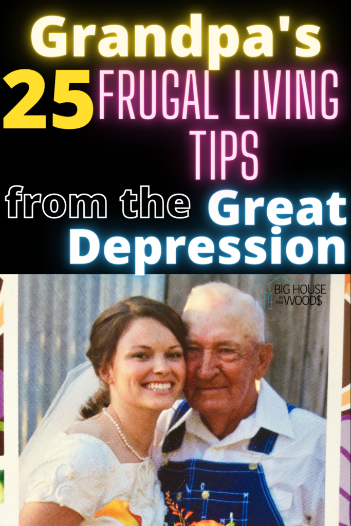 frugal living tips from the great depression - old fashioned frugal living