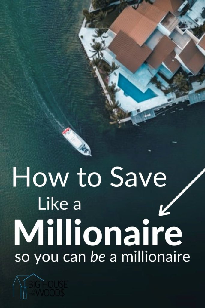how to save like a millionaire