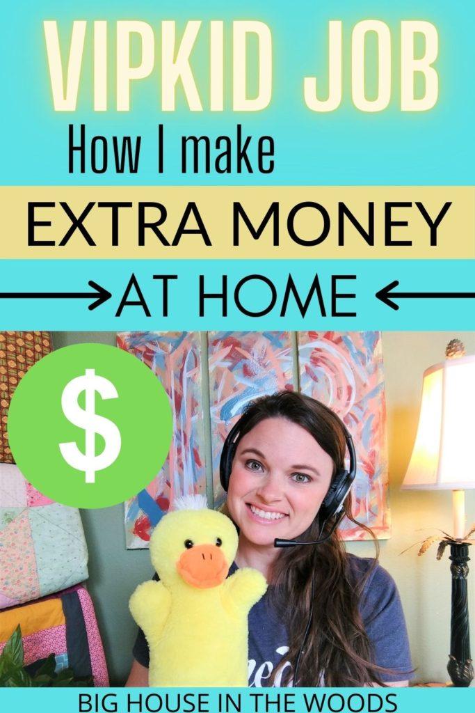 VIPKid job - make money from home